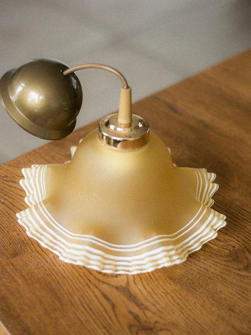 Vintage glazen hanglamp