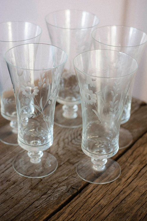 VINTAGE LONGDRINK GLAS