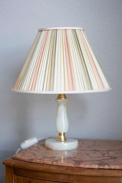 Marmer tafellampje