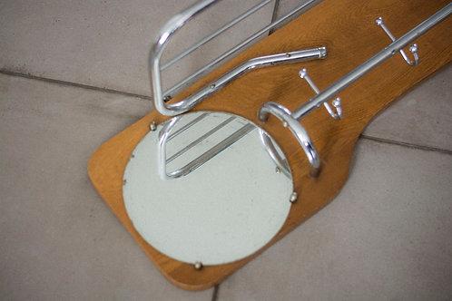 Vintage kapstok met chrome