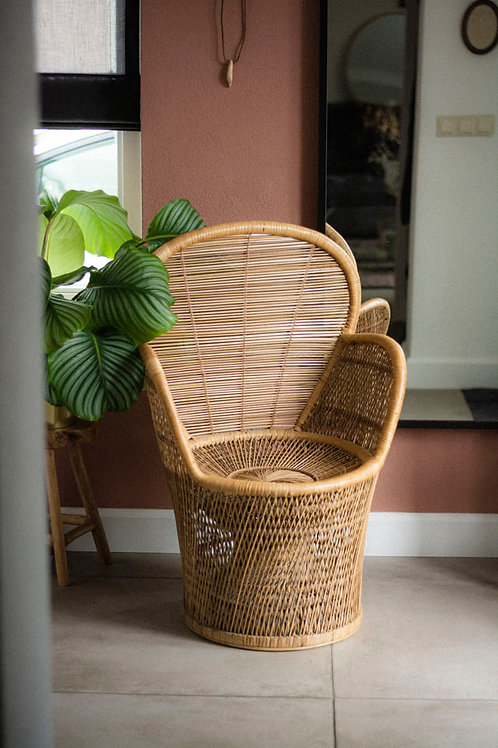Rotan boho stoel