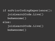 Learn2Code.Live for All!