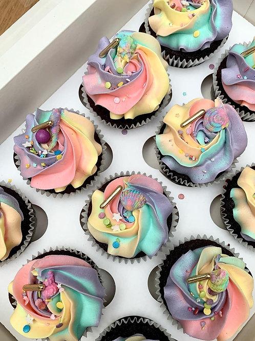 Cupcake selection x6