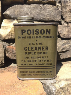 Antique World War 2 Rifle Cleaner