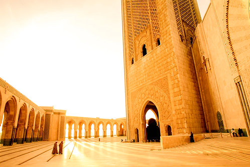 suzanne porter limited edition photo art print home decor casablanca mosque morocco africa north interior design architecture