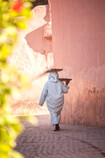 Carrying bread, Marrakech