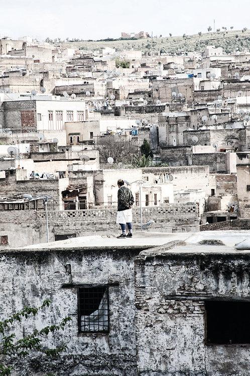 photo art prints deco photographie fes morocco travel neutral tones africa