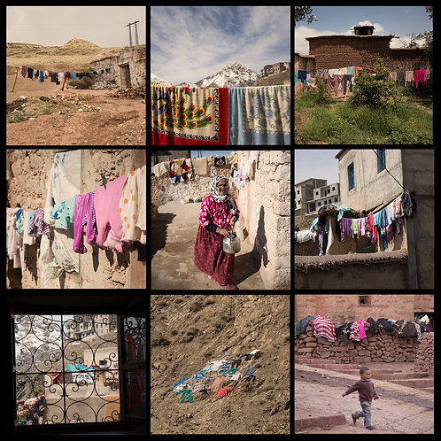 Moroccan Washing Lines
