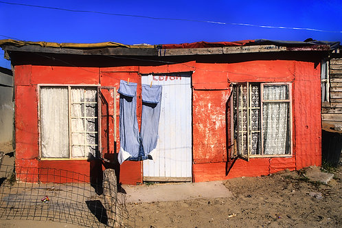 home orange architecture south africa fine art limited edition print suzanne porter photography travel cape town khayelitsha
