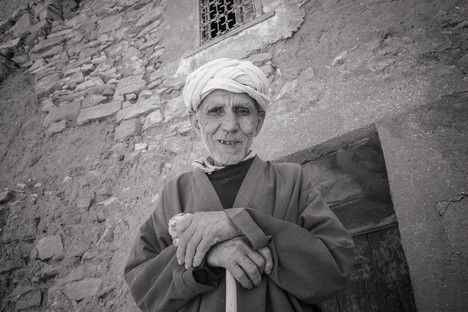 Portrait of a Berber man
