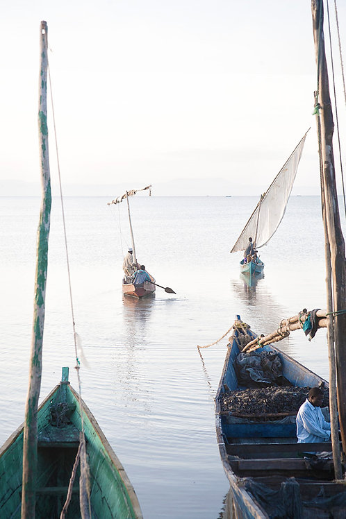 Boats 05, Dunga, Kenya