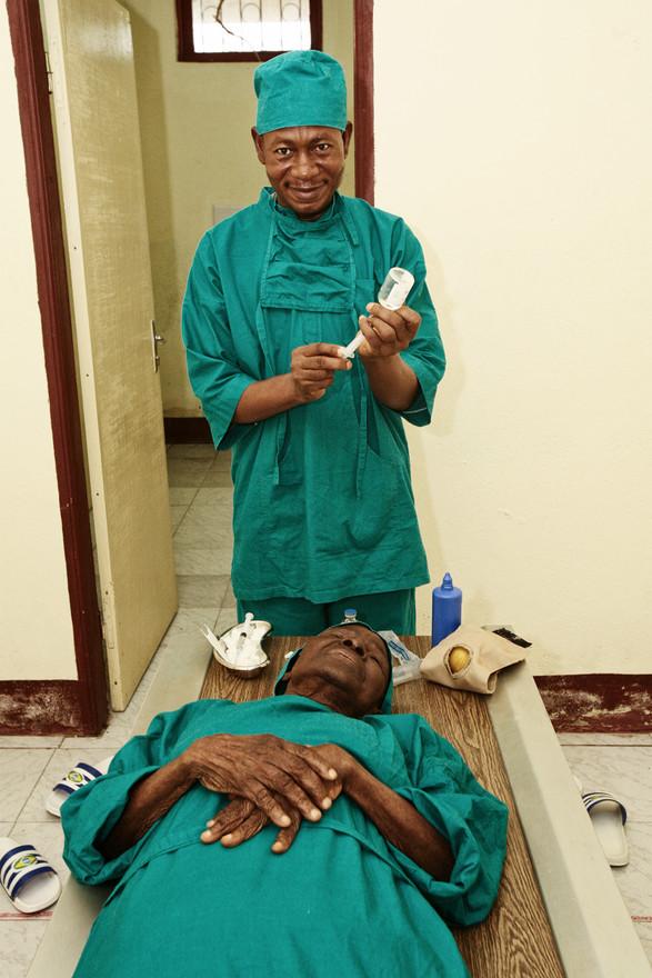 The anaesthetics were prepared...