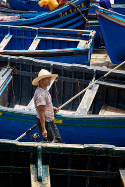 Oualidia fishing boats