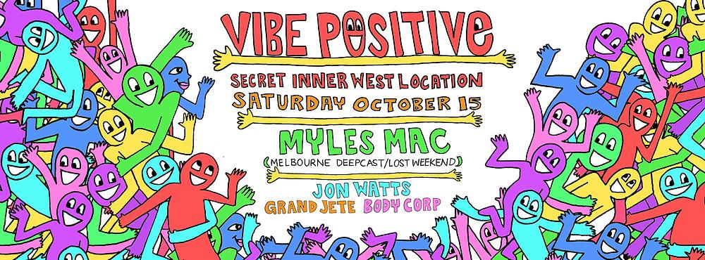 body corp dj @ vibe positive party