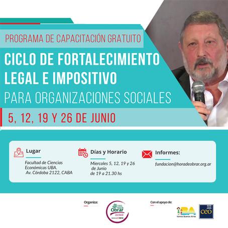 FORTALECIMIENTO LEGAL E IMPOSITIVO con el Dr. Pedro Gecik