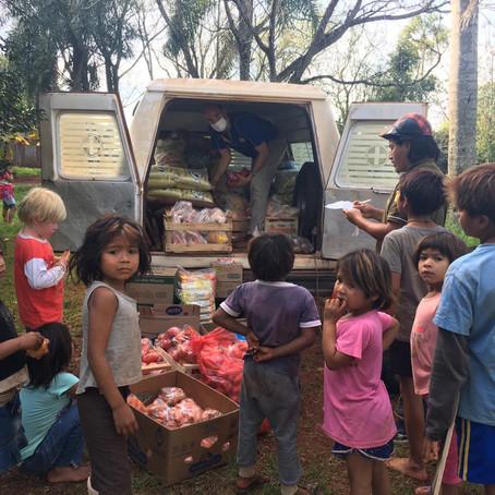 #EsHoraDeObrar: ya se entregaron 5000 kits de alimentos