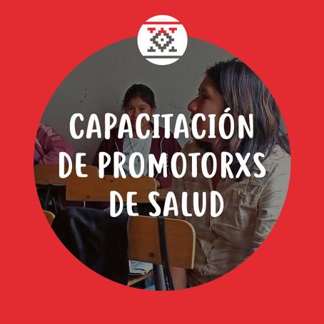 CAPACITACIÓN DE PROMOTORXS DE SALUD Y PARTERAS EMPÍRICAS