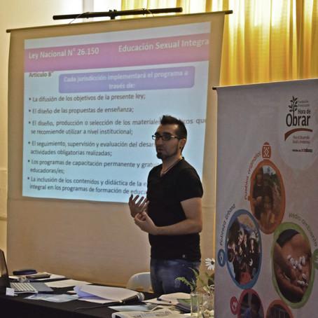 #ESIYA | Capacitamos a 60 docentes sobre Educación Sexual Integral en el Colegio Holandés de Tres Ar