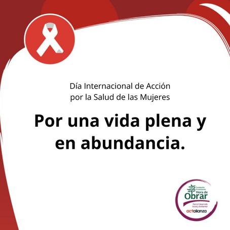 #28M | Día Internacional de Acción por la Salud de las Mujeres