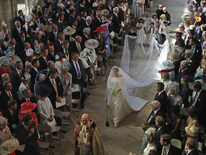 Congratulations to Prince Harry & Meghan! #RoyalWedding