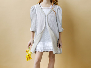 Linen Special Occasion Girls Dresses