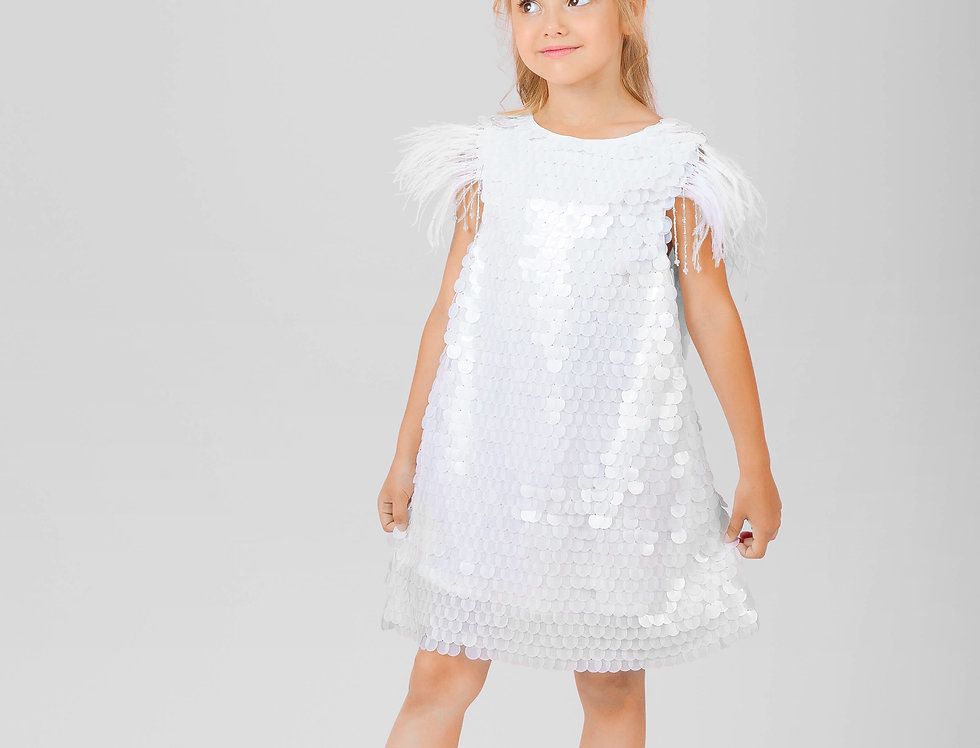sequin girls dress for special occasion