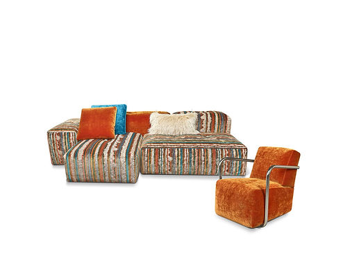 Sofa-Dropcity-Bretz Designer Sofa Orange