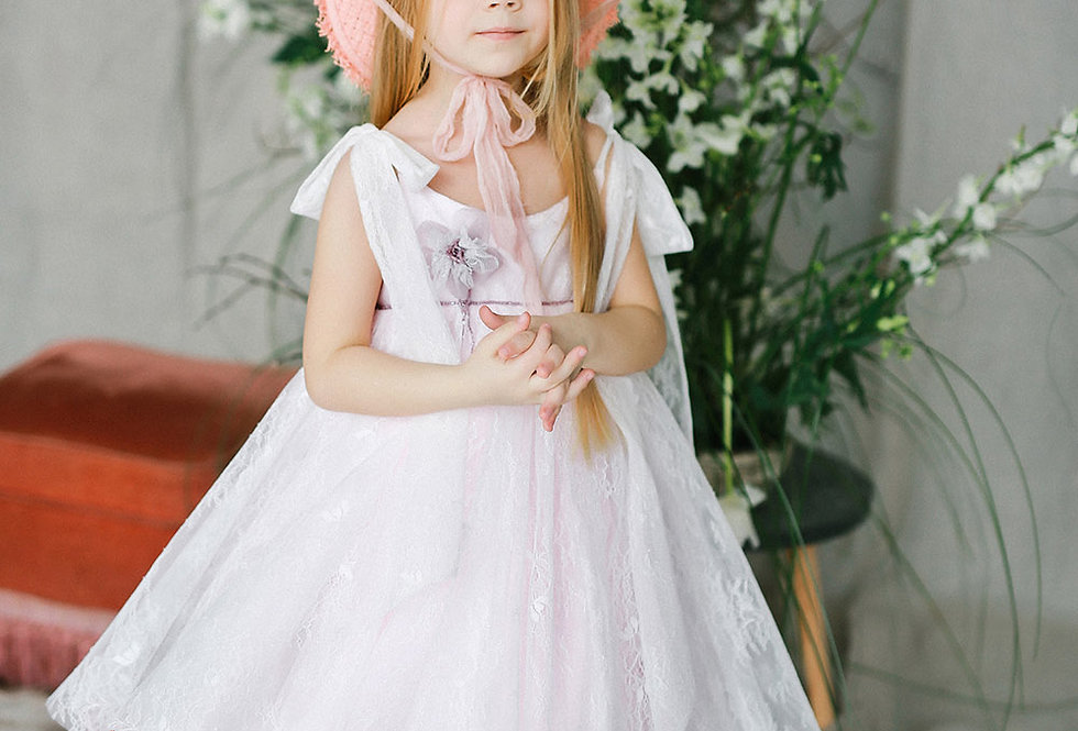 pink special occasion girls dress