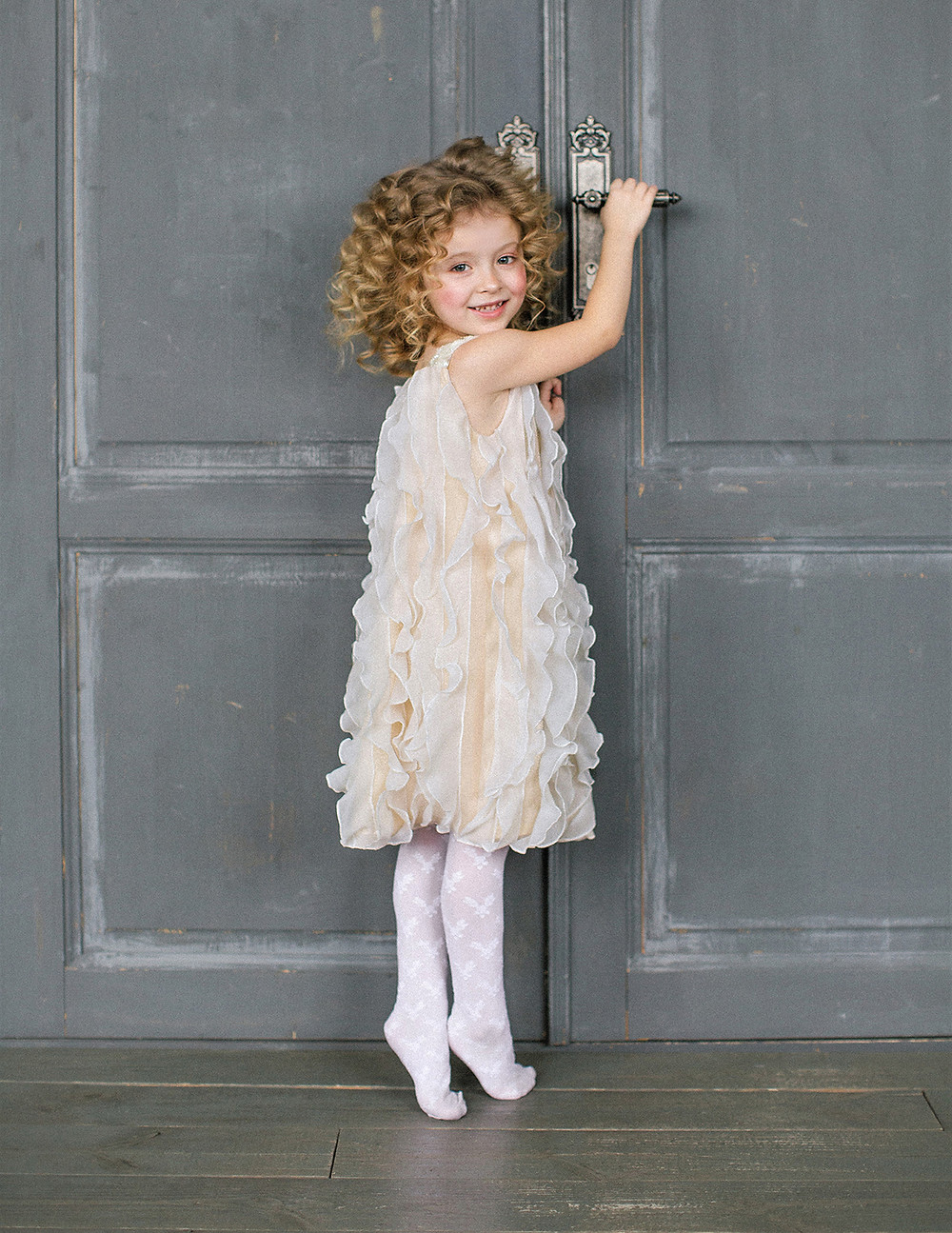 frilly girls birthday dress