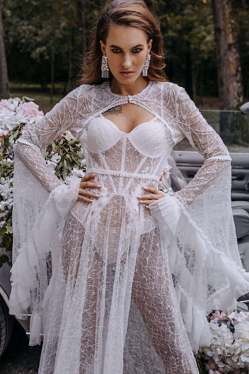 bridal night gown