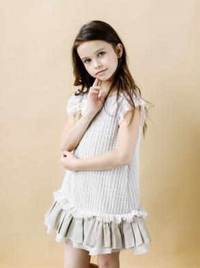 Linen Flower Girl Dresses