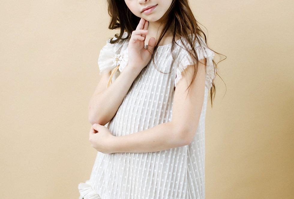 linen girls dress