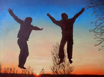Jeroen en Josse in Breede