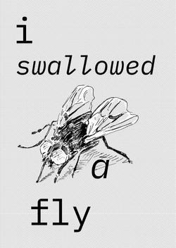 I SWALLOWED A FLY