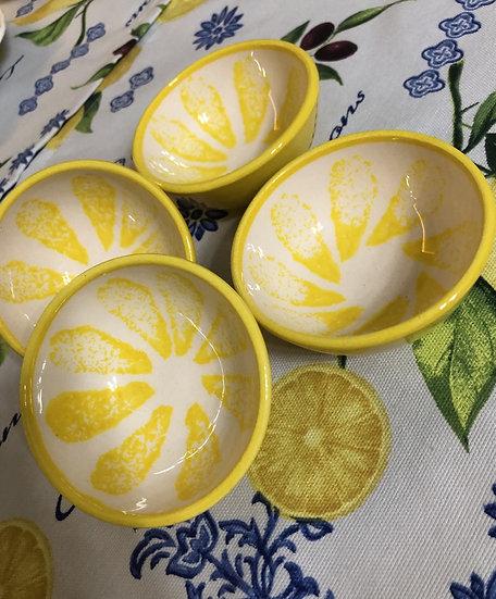 Limon Koleksiyonu_Seramik Kase 4'lü