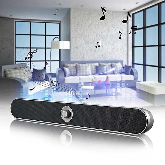 HIFI Sound Bar USB /Wireless Bluetooth Hoparlör FM Radio Surround Subwoofer