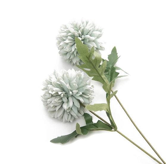 Nature_Soft Yapay Çiçek 2'li Mavi