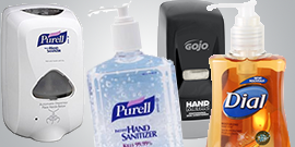 Garland Supply Fort Worth Gojo Dial Purell Hygiene Supplies
