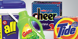 Garland Supply Fort Worth laundry detergent tide gain all cheer