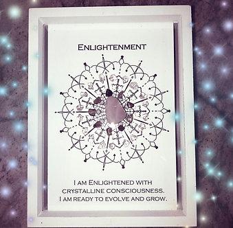 Enlightenment Mandala Lightcode Crystal Grid