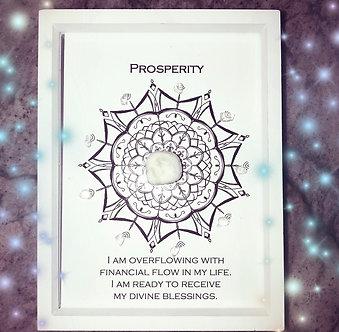 Prosperity Mandala Lightcode Crystal Grid