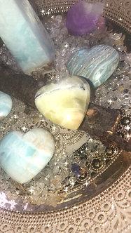 Green Onyx - Crystalline Heart