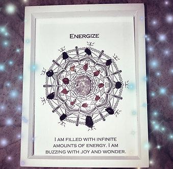 Energize Mandala Lightcode Crystal Grid