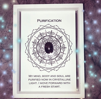 Purification Mandala Lightcode Crystal Grid