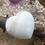 Thumbnail: Sky Blue Aragonite - Crystalline Heart