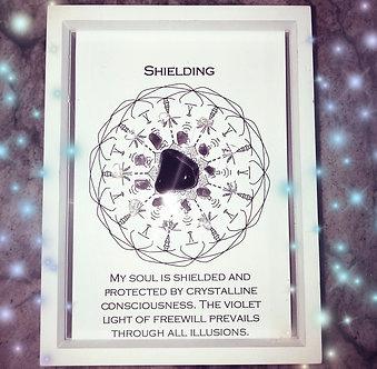 Shielding Mandala Lightcode Crystal Grid