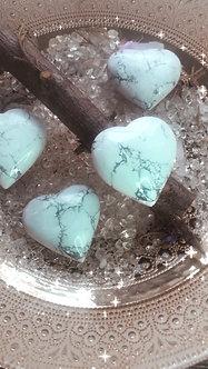 Howelite - Crystalline Heart