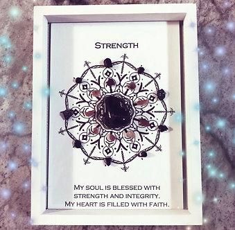 Strength Mandala Lightcode Crystal Grid