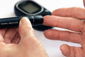 teste rápido para glicemia