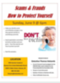 Scam & Fraud Protectin Seminar